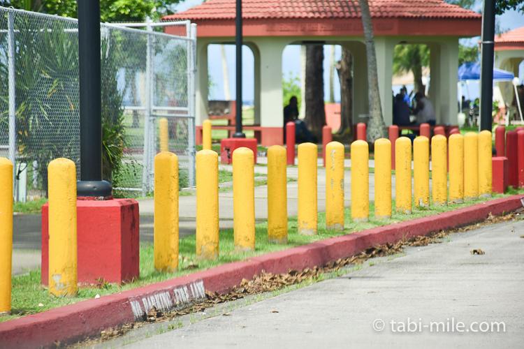ハガニア地区駐車禁止スペース
