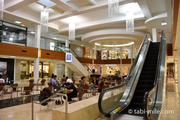 タモンサンズプラザ店内ホノルルコーヒーカンパニー