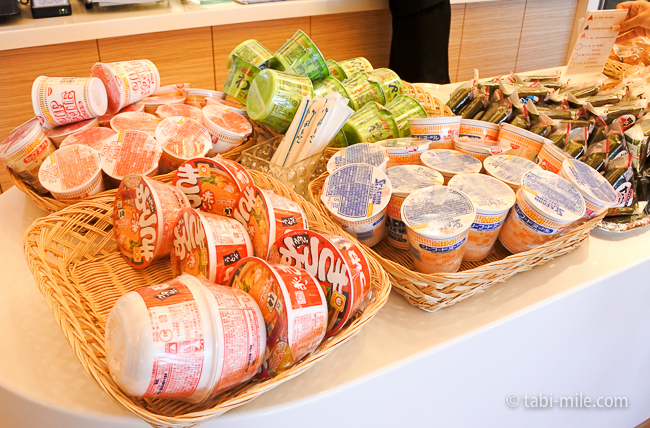 成田空港第1ターミナルKALラウンジカップ麺