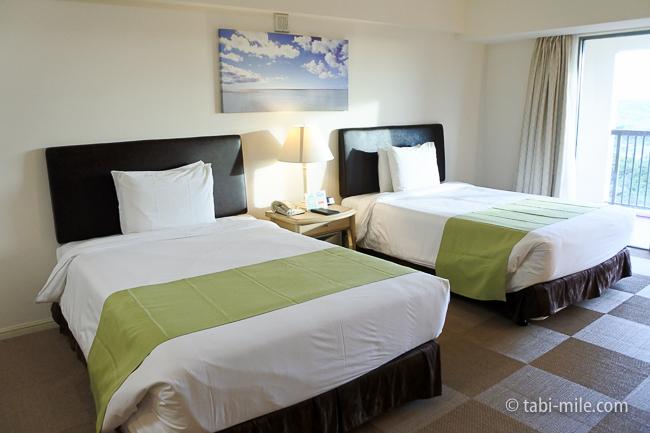 レオパレスリゾートグアム部屋コンドミニアム棟ベッド