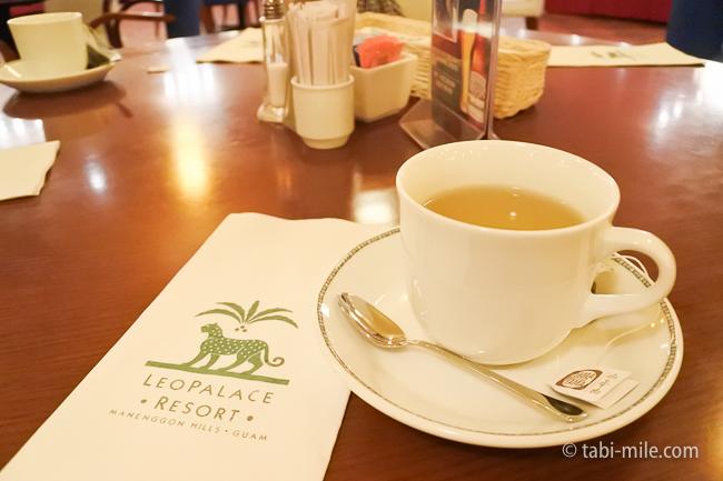 グアム旅行レオパレスリゾートグアムレストランラーゴ緑茶