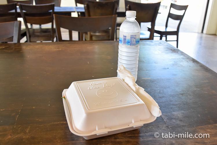 グアム旅行チャモロビレッジランチテリーズファストフード2チョイス水