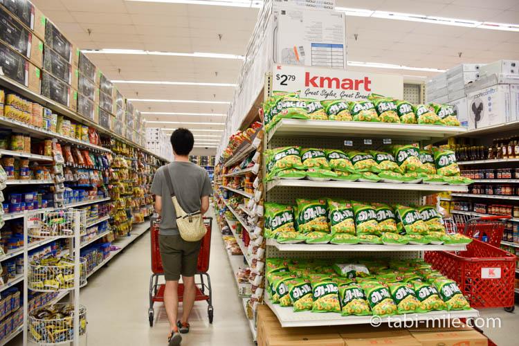 Kマートグアム 日本のお菓子