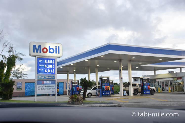 グアム ガソリンスタンド