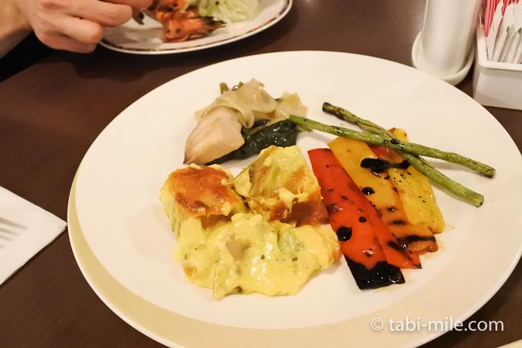 ホテルニッコーグアム マゼランブッフェ グリル野菜