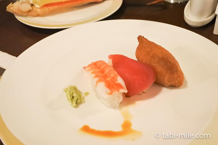 ホテルニッコーグアム マゼランブッフェ 寿司いなり寿司