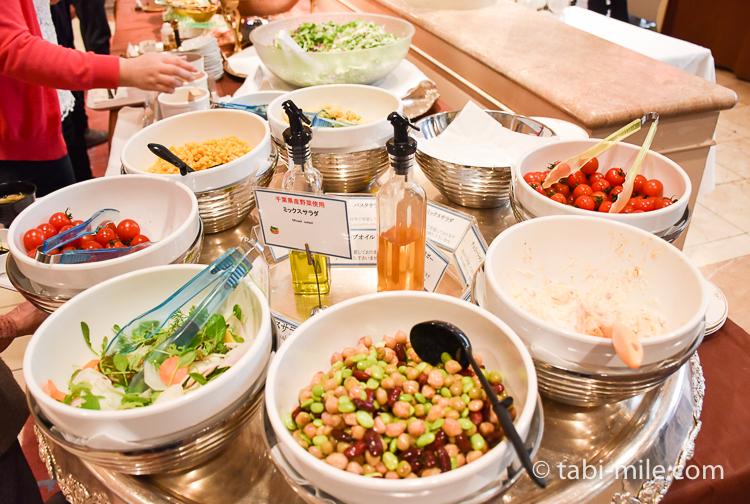 フォンタナ サラダ 豆類 トマト