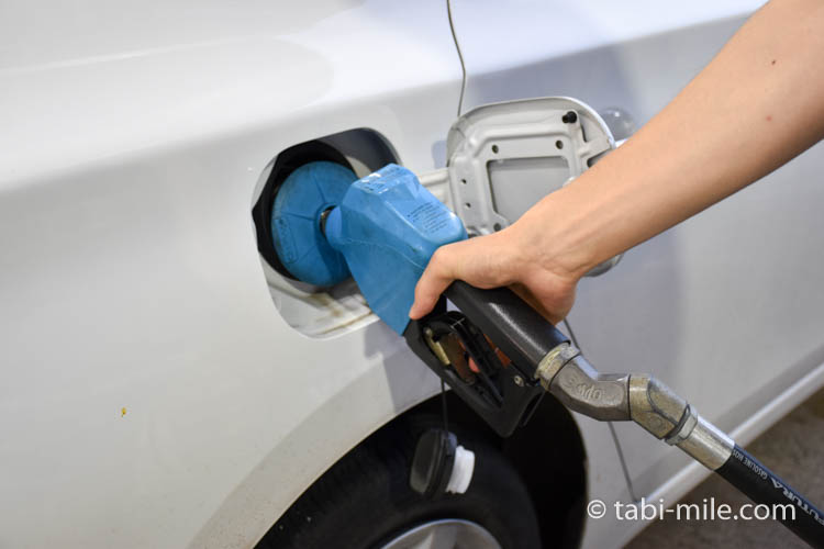 アメリカグアムハガニア ガソリンスタンド10