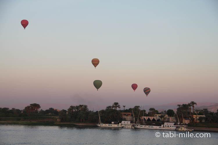 エジプトアスワン 気球