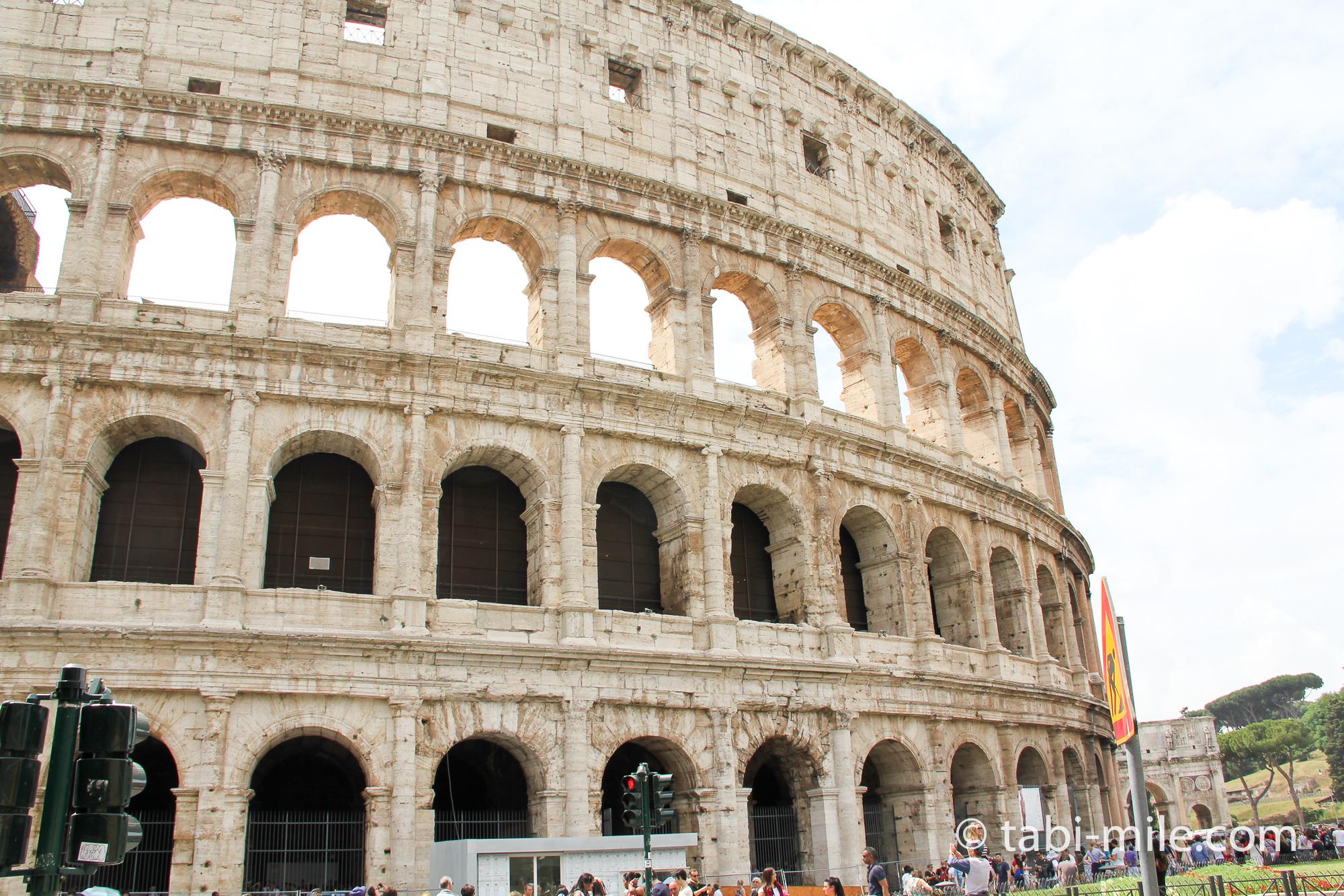 ヘッダー画像 イタリアコロッセオ