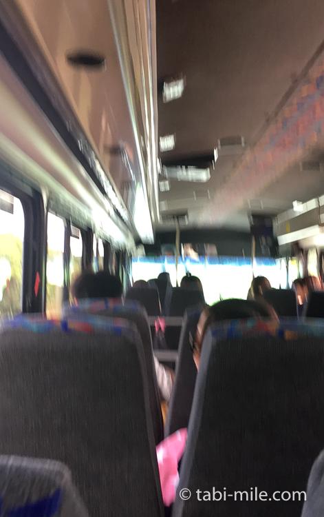 グアム グアム旅行 ココパームガーデンビーチ 送迎バス 溝 揺れる