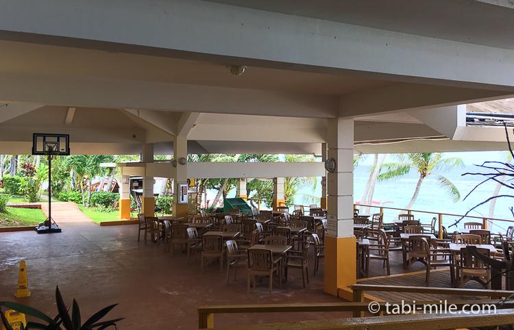 グアム旅行 ココパームガーデンビーチ ダイニング2