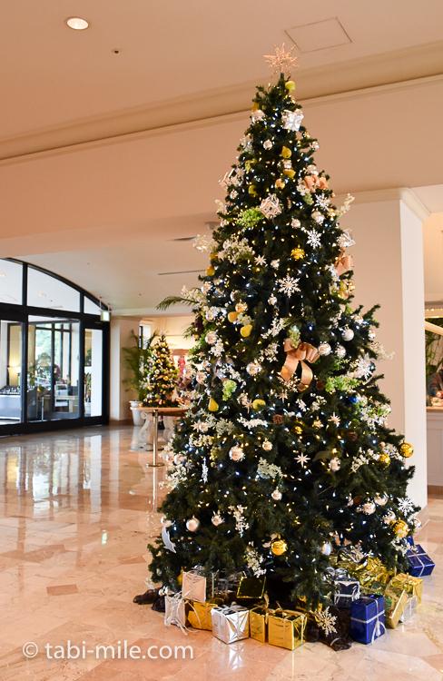 ホテルオークラ東京ベイ 大きなクリスマスツリー