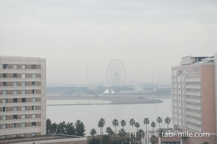 ホテルオークラ東京ベイ デラックスルーム 景色3