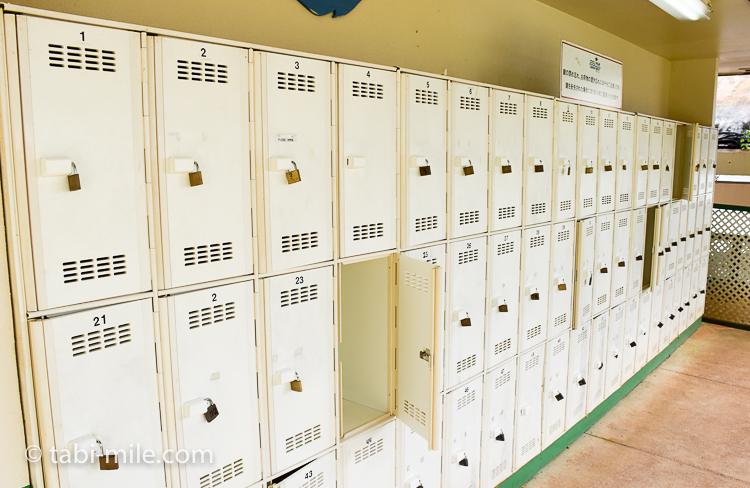 グアム旅行 ココパームガーデンビーチ 鍵付き ロッカー1