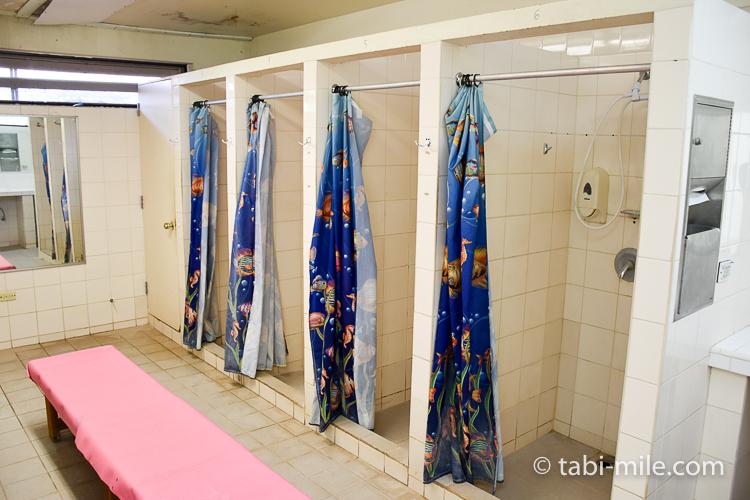 グアム旅行 ココパームガーデンビーチ シャワールーム1
