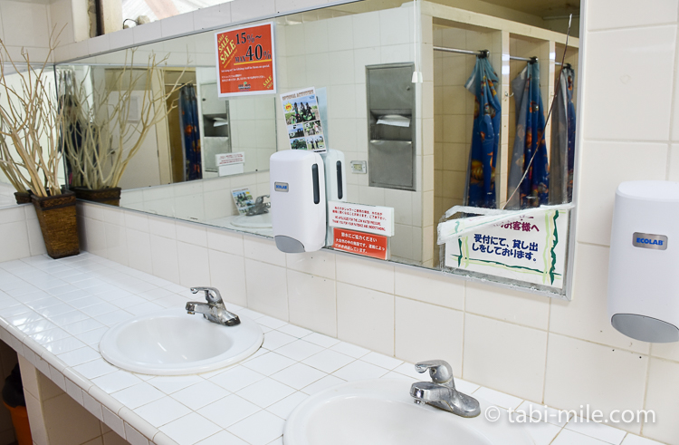 グアム旅行 ココパームガーデンビーチ シャワールーム2