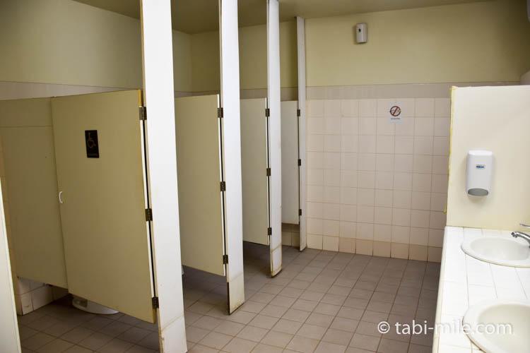 ココパームガーデンビーチ トイレ