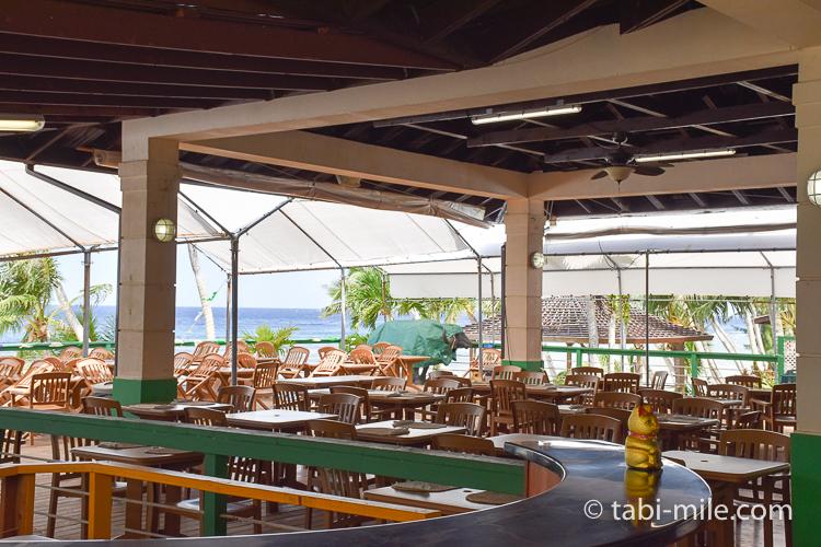 グアム旅行 ココパームガーデンビーチ ダイニング1