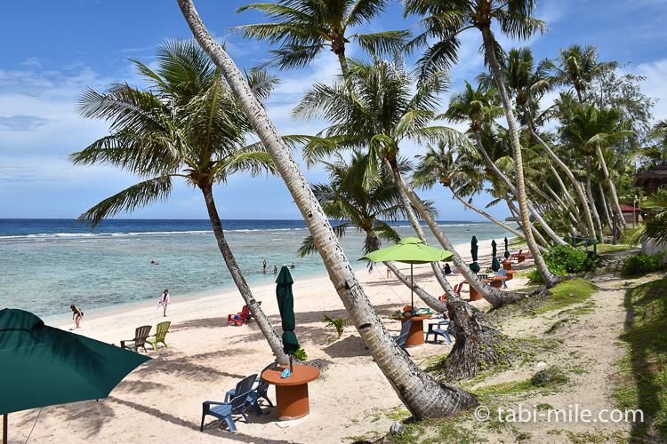 グアム旅行 ココパームガーデンビーチ ビーチの様子2