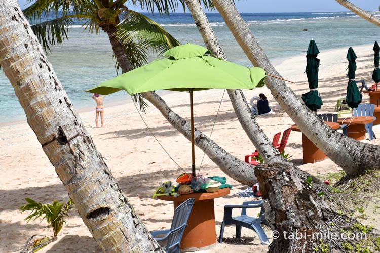 ココパームガーデンビーチ ビーチパラソル