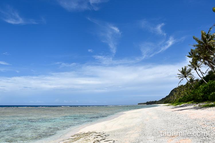 グアム ココパームガーデンビーチ 海岸