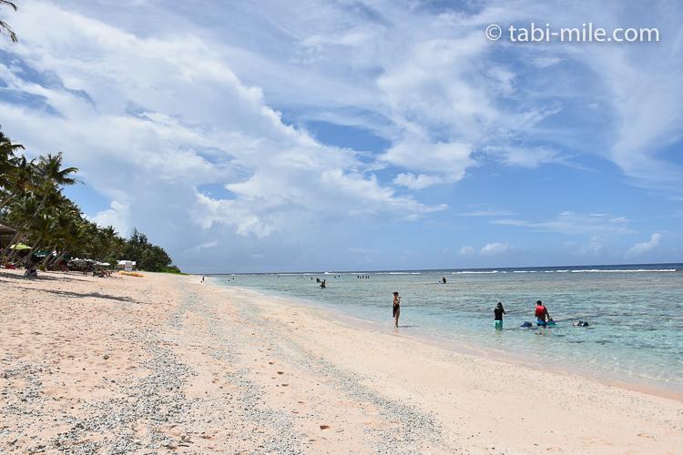 グアム旅行 ココパームガーデンビーチ 散策