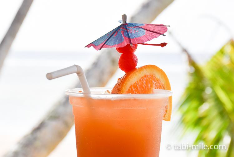 ココパームガーデンビーチ トロピカルジュース オレンジ