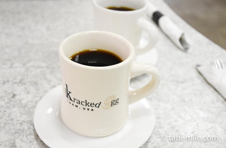 グアム ザクラックドエッグ コーヒー