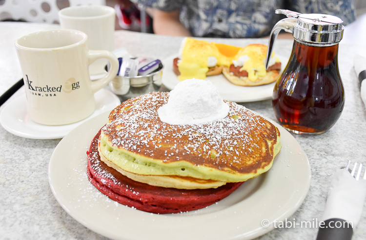 グアム ザクラックドエッグ パンケーキ2