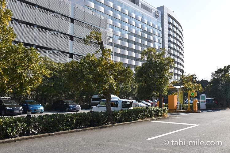 ホテルオークラ東京ベイ 駐車場 シェラトン側