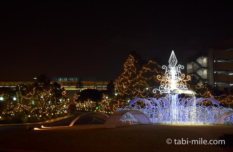 ホテルオークラ東京ベイ モニュメント夜景
