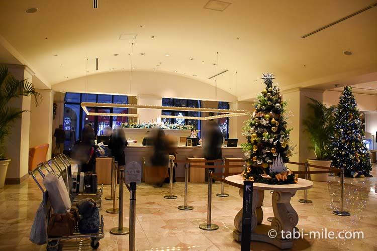 ホテルオークラ東京ベイ チェックインカウンター