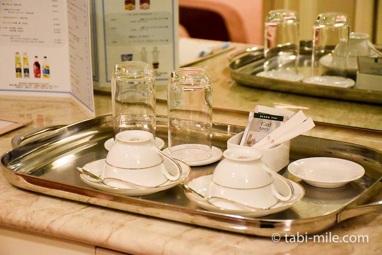 ホテルオークラ東京ベイ デラックスルーム ティーセット