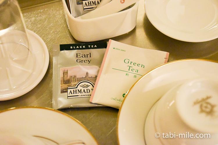 ホテルオークラ東京ベイ デラックスルーム ティーセット緑茶コーヒー