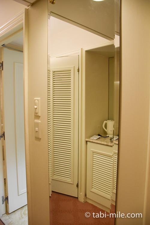ホテルオークラ東京ベイ デラックスルーム 鏡