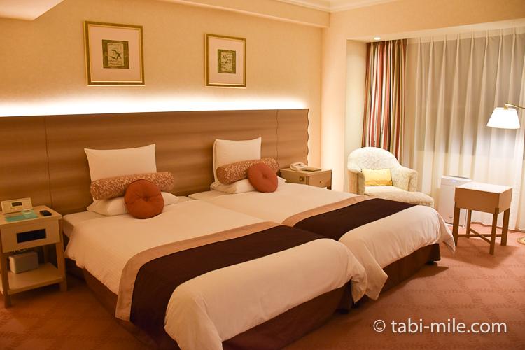 ホテルオークラ東京ベイ デラックスルーム ベッド