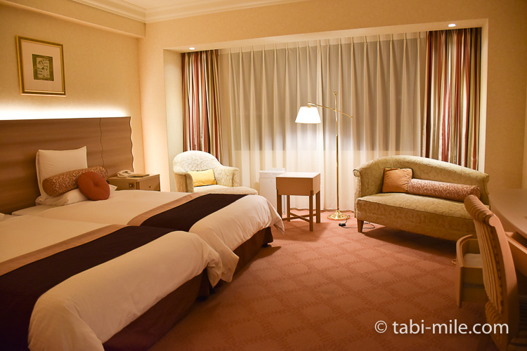 ホテルオークラ東京ベイ デラックスルーム 室内