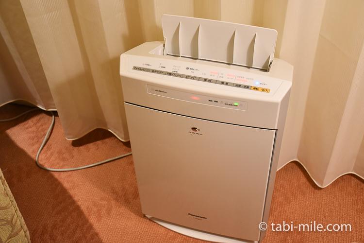 ホテルオークラ東京ベイ デラックスルーム 空気洗浄器