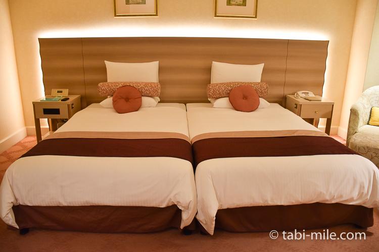 ホテルオークラ東京ベイ デラックスルーム ベッドだけ