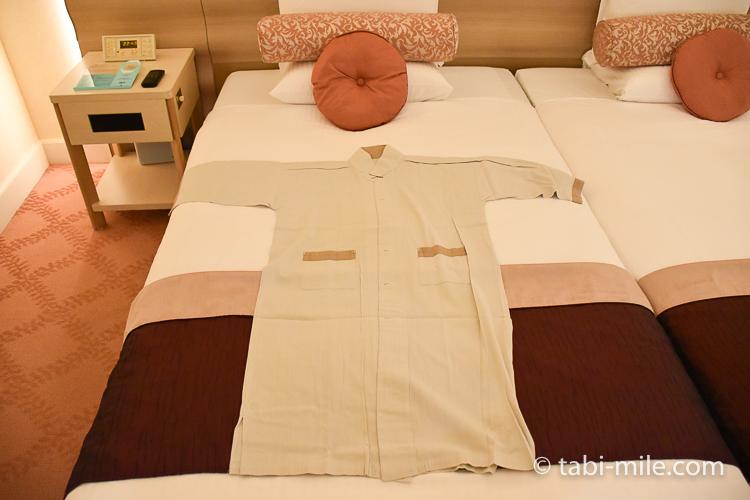 ホテルオークラ東京ベイ デラックスルーム ナイトウェア
