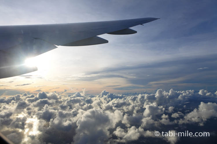 ユナイテッド航空からの眺め