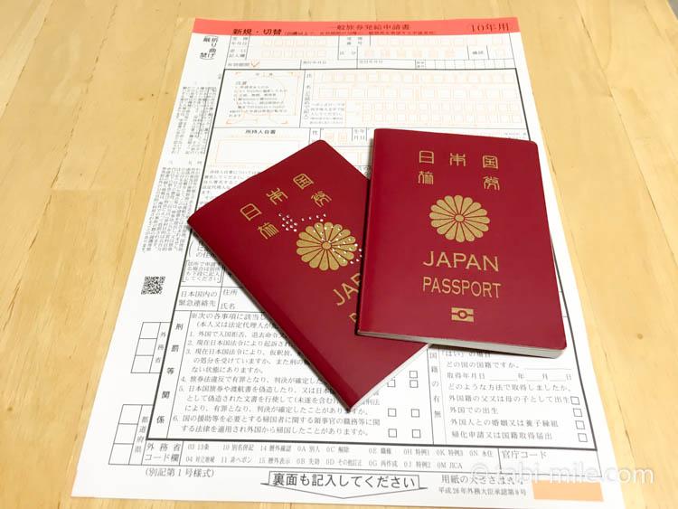 パスポート代理申請