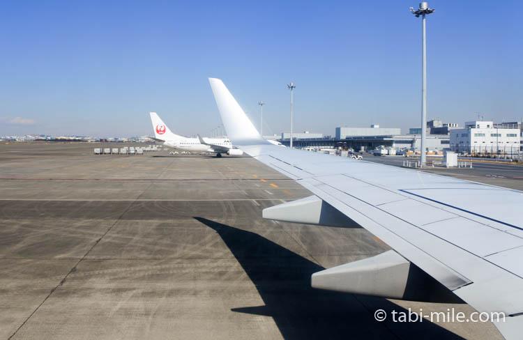 JAL国内線からの景色