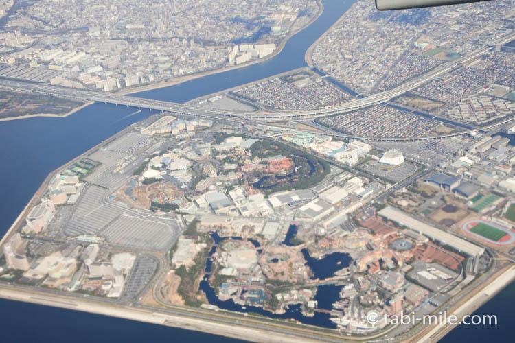 JAL国内線からの東京ディズニーリゾート