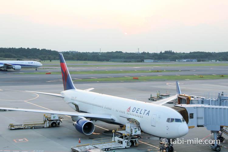 デルタ航空 機体 成田空港