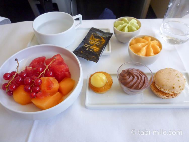 エールフランス 機内食デザート