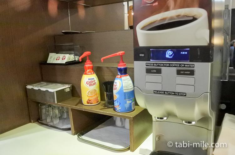 グアム国際空港 サガンビスタラウンジ お茶コーヒー