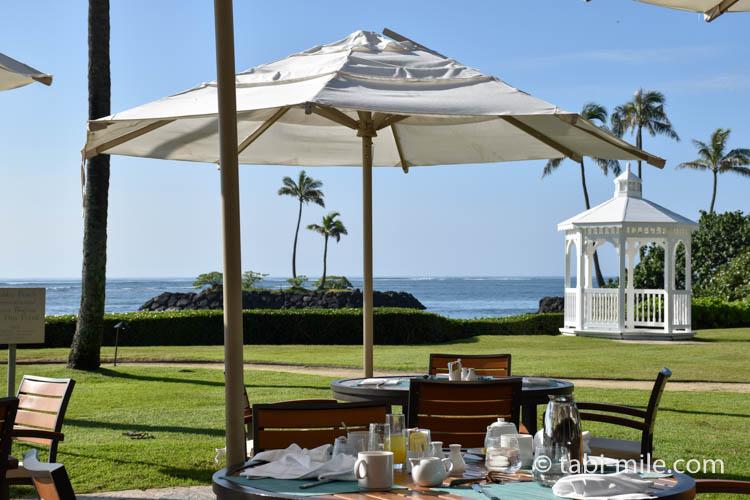 カハラホテルの朝食