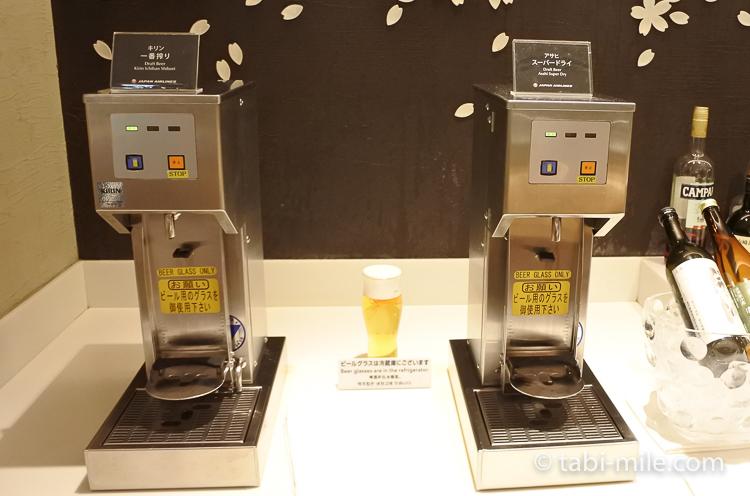 JALサクララウンジ ビール